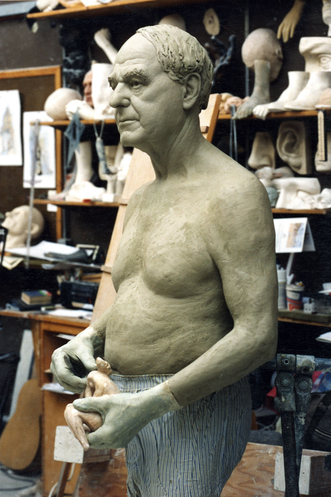 Sculpture of Henry Moore by Karen Newman