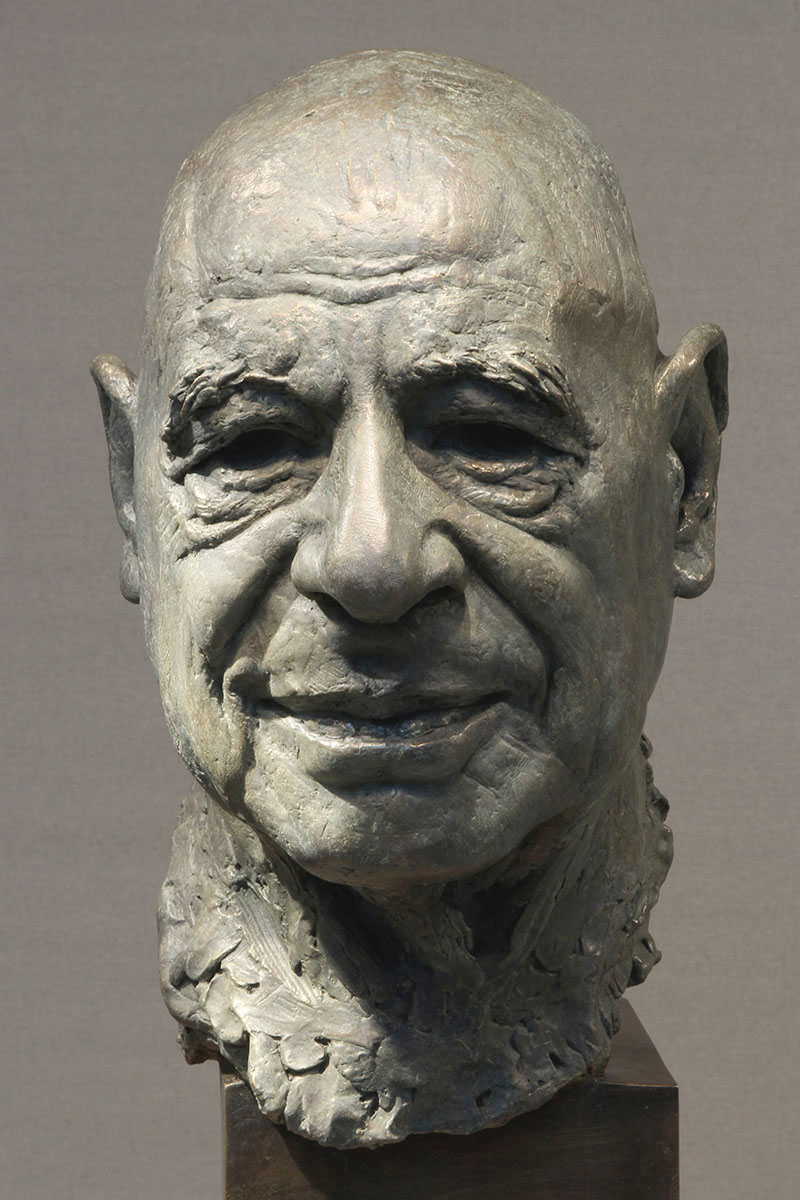 Sculpture of Dr Samir Eid by Karen Newman