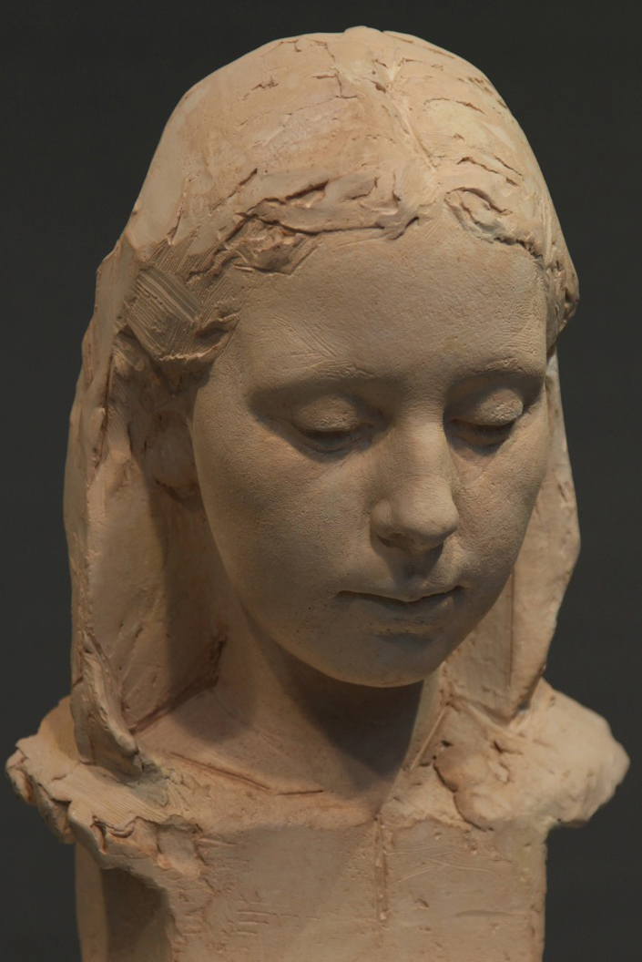 Sculpture of Vivien by Karen Newman