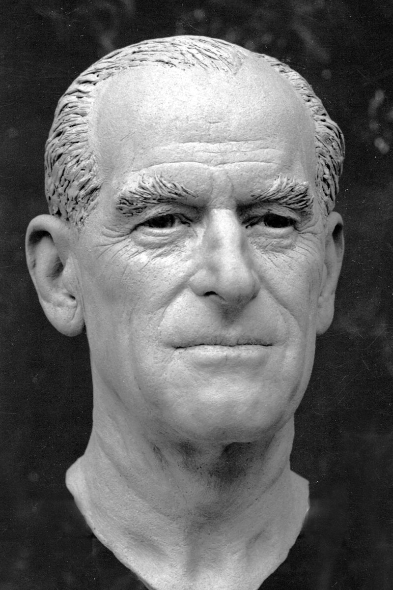 Sculpture of HRH The Duke of Edinburgh by Karen Newman